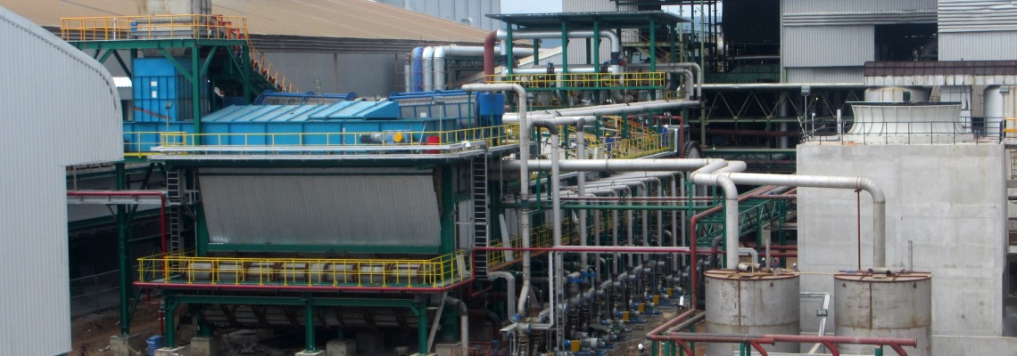 Sugar cane extraction plant - BMA diffuser