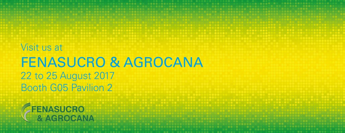 25 years FENASUCRO & AGROCANA. We are joining in the celebrations.
