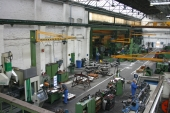 View of machining plant