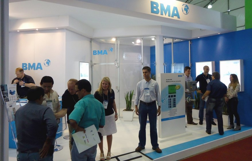 BMA AG and BMA Automation together at Fenasucro 2011
